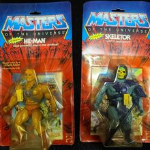 <cite>Masters of the Universe</cite> action figure packaging