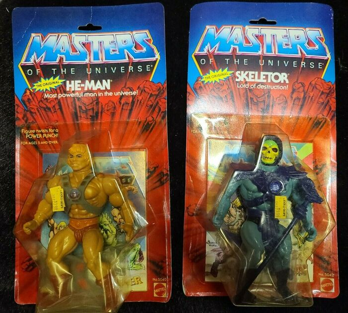 Masters of the Universe action figure packaging 1