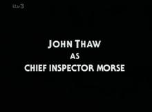 <cite>Inspector Morse</cite> (1987) titles
