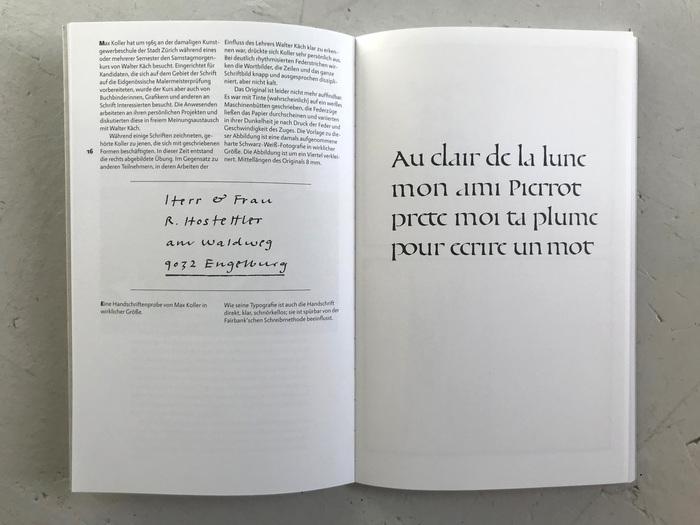 Max Koller, Typograf 4