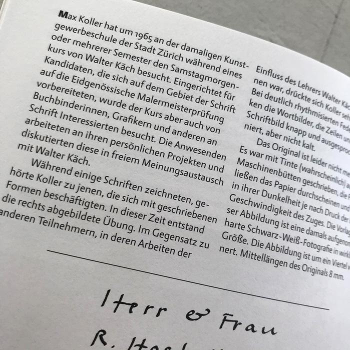 Max Koller, Typograf 5