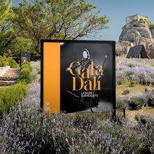 <cite>Gala Dalí, the surrealist muse</cite>, Château des Baux-de-Provence