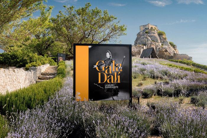 Gala Dalí, the surrealist muse, Château des Baux-de-Provence 1