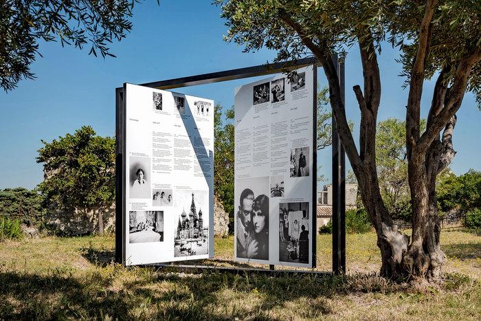 Gala Dalí, the surrealist muse, Château des Baux-de-Provence 5
