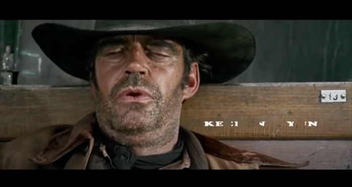 Once Upon A Time In The West (1968) opening credits 4