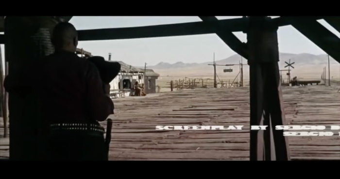 Once Upon A Time In The West (1968) opening credits 6