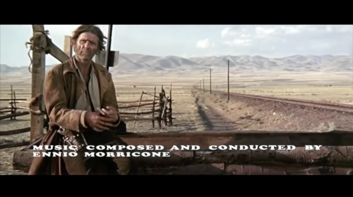 Once Upon A Time In The West (1968) opening credits 8