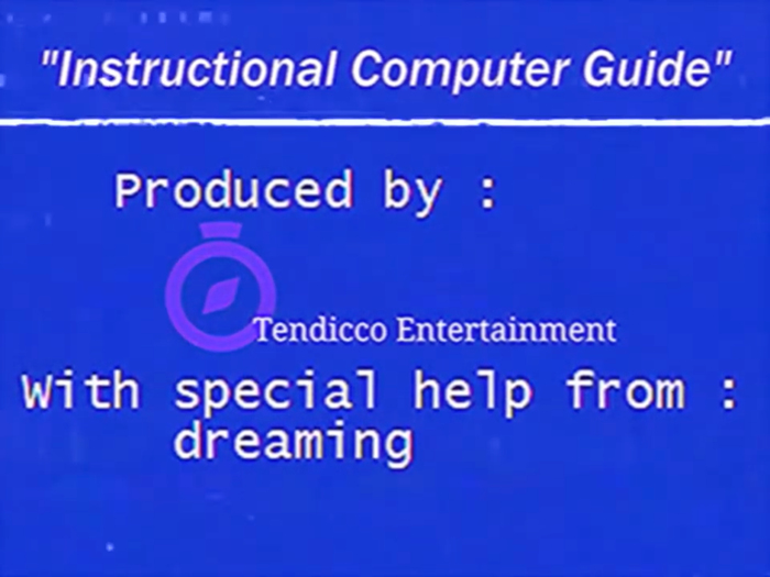 """""""Instructional Computer Guide"""" by Tendicco Entertainment 9"""