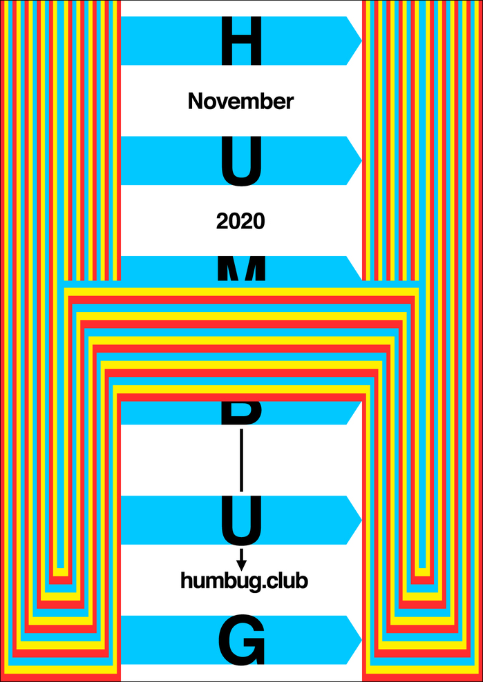 Humbug November 2020 program poster series 4
