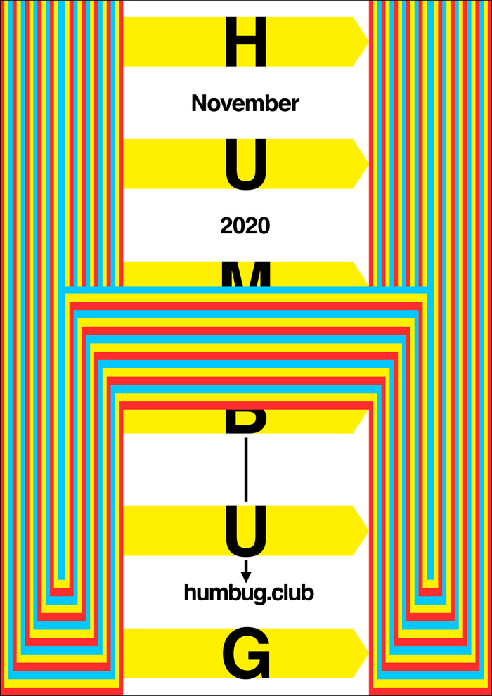 Humbug November 2020 program poster series 2