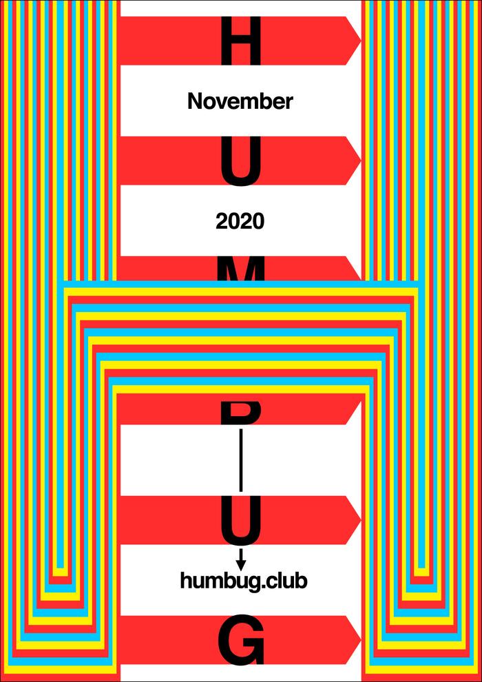 Humbug November 2020 program poster series 6