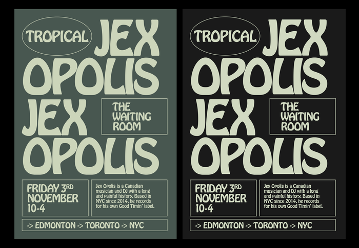 Tropical poster series 3