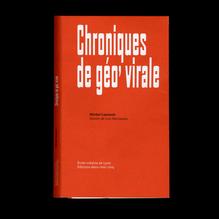 <cite>Chroniques de géo' virale</cite> by Michel Lussault