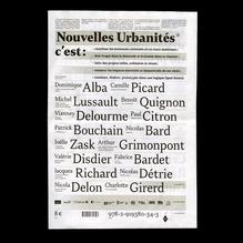 <cite>Nouvelles Urbanités</cite>