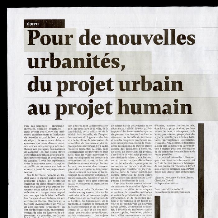Nouvelles Urbanités 6