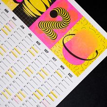 Calendar 2020 (Risograph print)