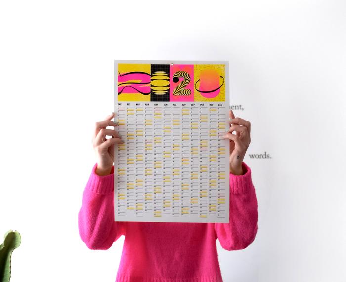 Calendar 2020 (Risograph print) 5