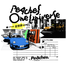 """Start Your Engines: Peaches is Reigniting Car Culture"" illustration"
