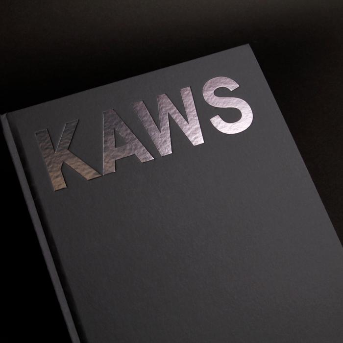 KAWS: Blackout exhibition catalogue 1