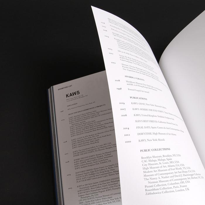 KAWS: Blackout exhibition catalogue 5