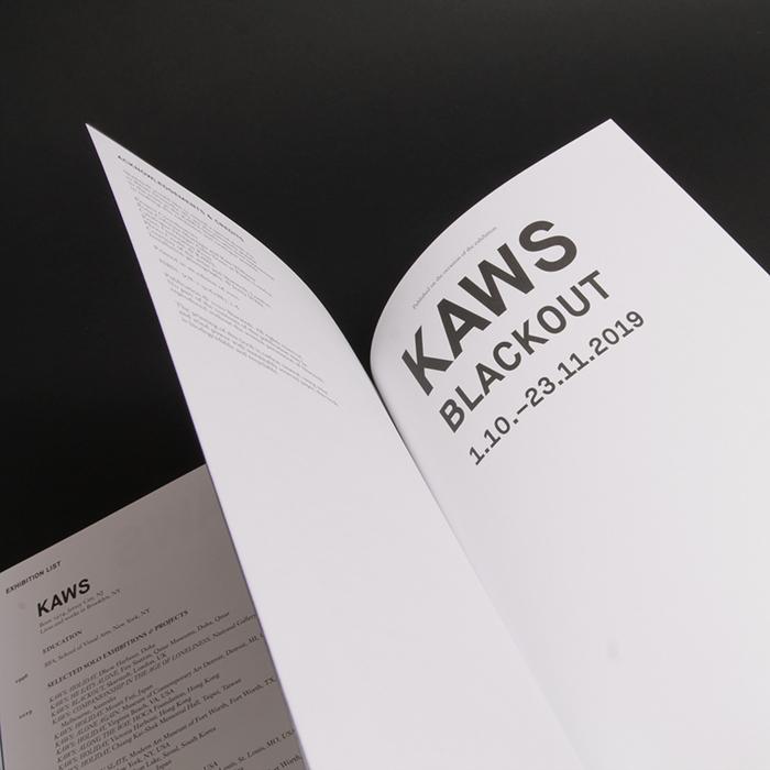 KAWS: Blackout exhibition catalogue 6