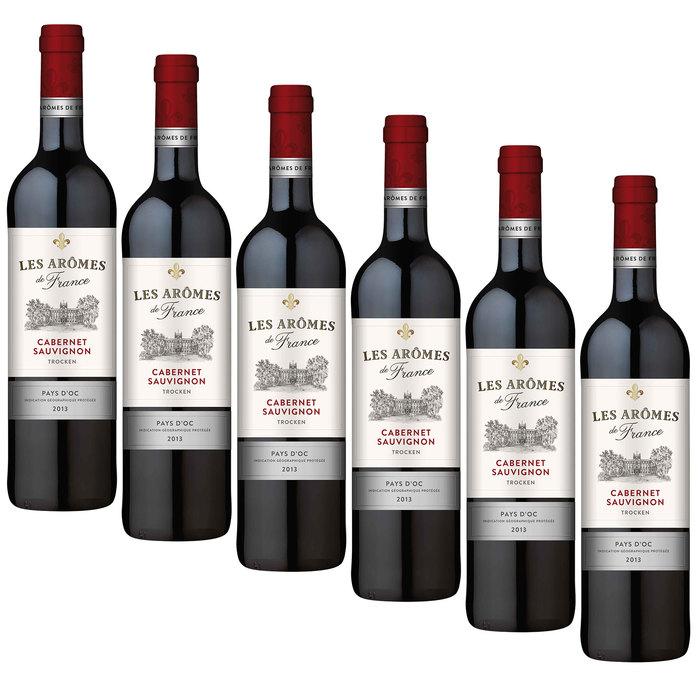 Les Arômes de France wines by Edeka 4