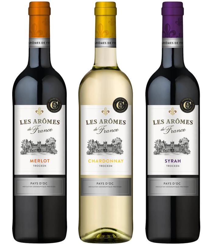 Les Arômes de France wines by Edeka 3