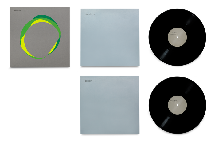 PLUS LP cover, inner sleeves, and vinyl record.