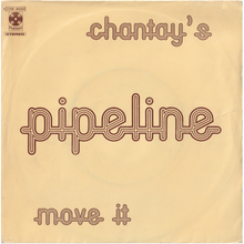 "The Chantays – ""Pipeline"" Italian single cover"