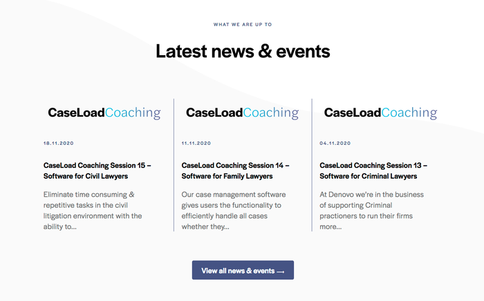 "The wordmark for ""CaseLoadCoaching"" brings together Halyard's Display and Text styles. The latter is distinguished by more open shapes and a less compact spacing."