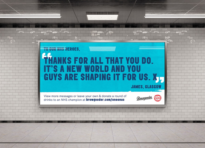 Brewgooder — One on Us campaign 2