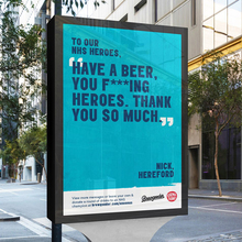 Brewgooder — <cite>One on Us</cite> digital billboards