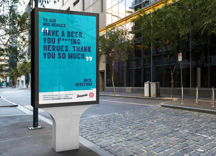 Brewgooder — One on Us campaign 1