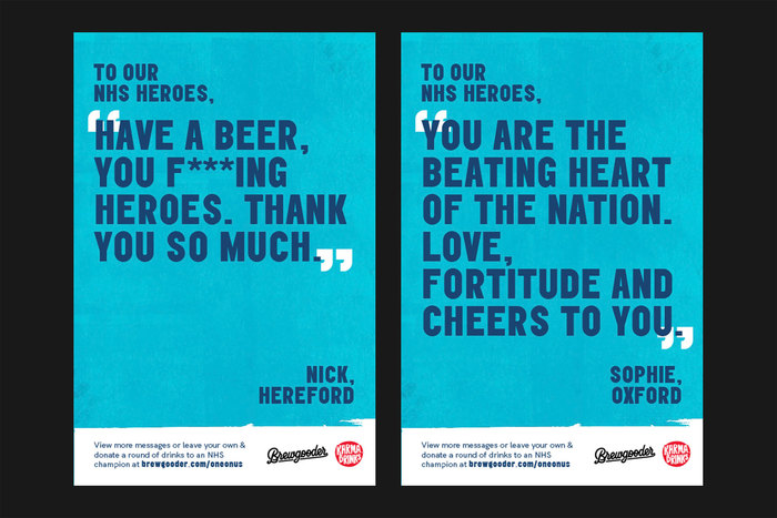 Brewgooder — One on Us campaign 5
