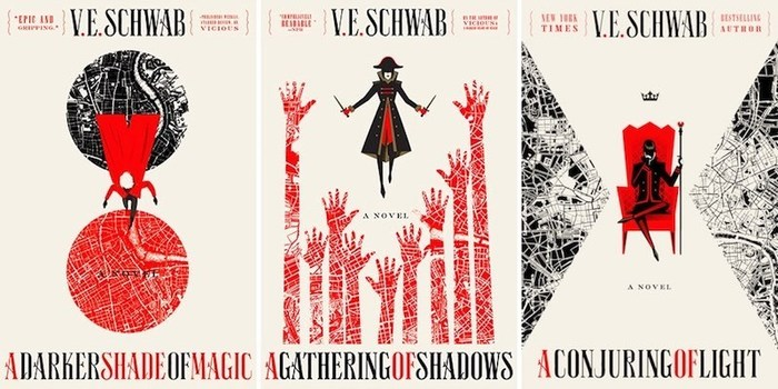 The Shades of Magic Series by V.E. Schwab 5
