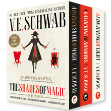 <cite>The Shades of Magic Series</cite> by V.E. Schwab