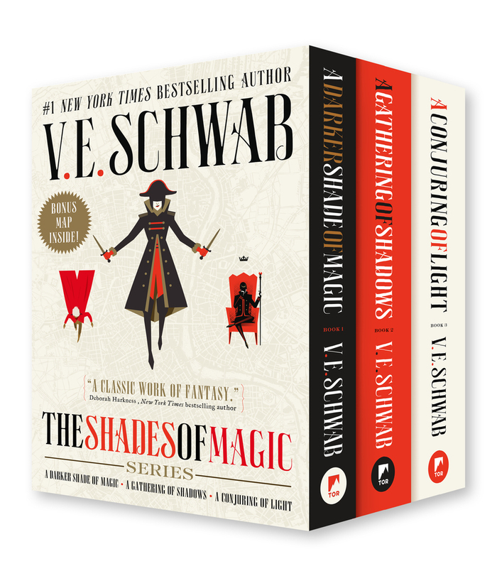 The Shades of Magic Series by V.E. Schwab 1