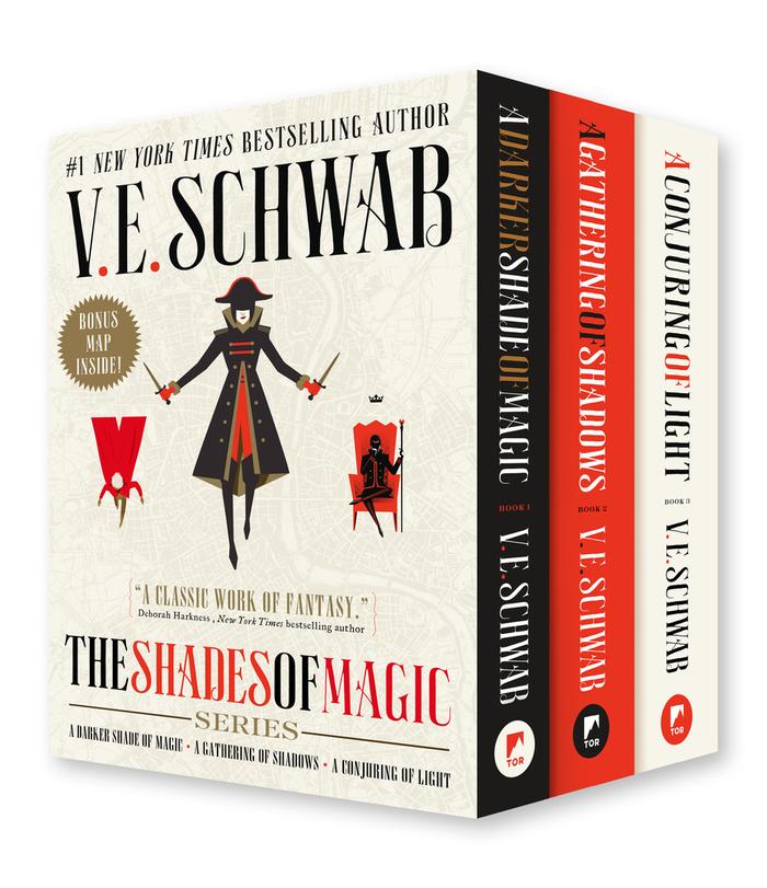 The Shades of Magic Series by V.E. Schwab