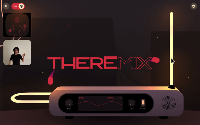 Theremix virtual theremin app 2