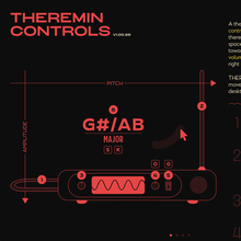 Theremix virtual theremin app