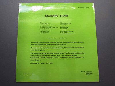 Oliver (Chaplin) – Standing Stone album art 4