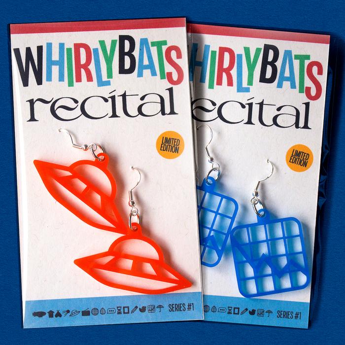 Whirlybats x Recital earrings 1