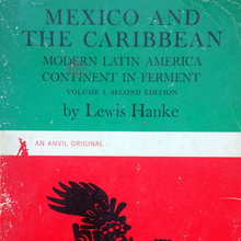 <cite>Mexico and the Caribbean</cite> by Lewis Hanke