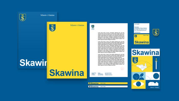 Skawina municipal identity 9
