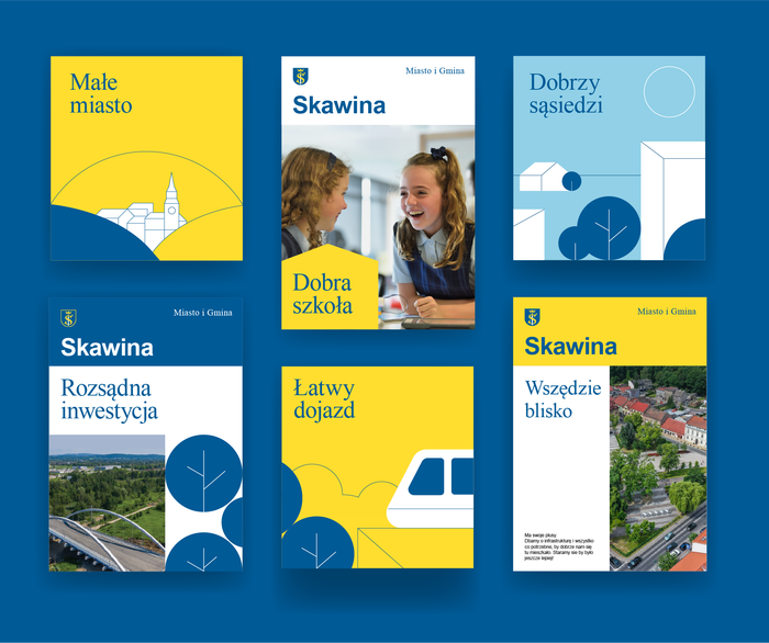 Skawina municipal identity 10