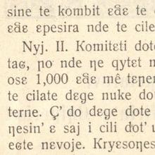 <cite>Komiteti i shqipëtarëve për lirin' e Shqipërisë: kanonizmë</cite>