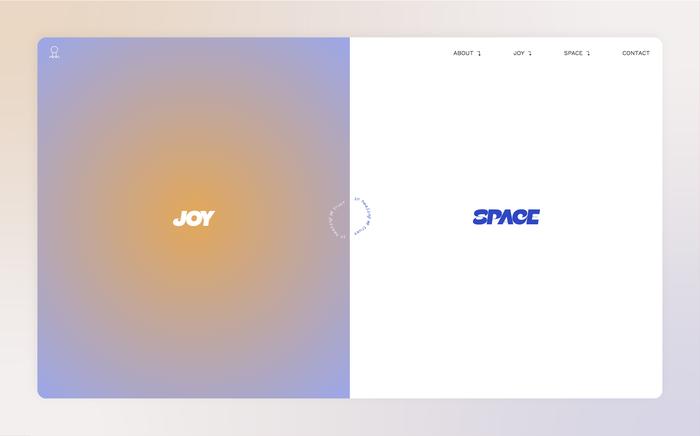 Joy Space website 2
