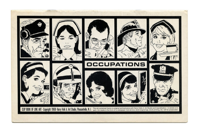 """""""Occupations"""" (No. 524) ft. more  Bold Extended."""