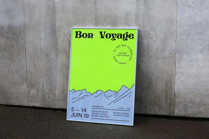 Bon Voyage, Galerie l'Inattendue 1
