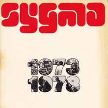 Sygma logo and brochures